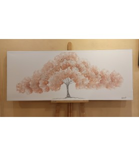 Árbol de la vida rosado