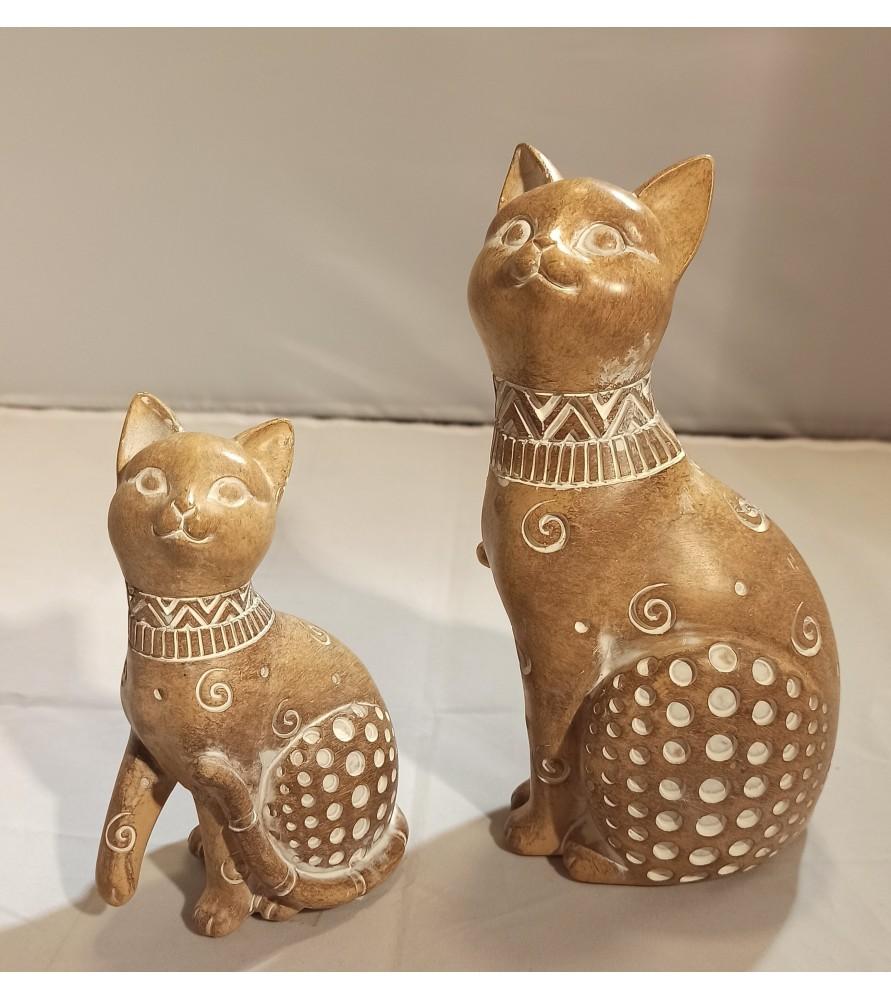Pareja de Gatos Japoneses